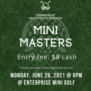 2nd Annual Mini-Masters